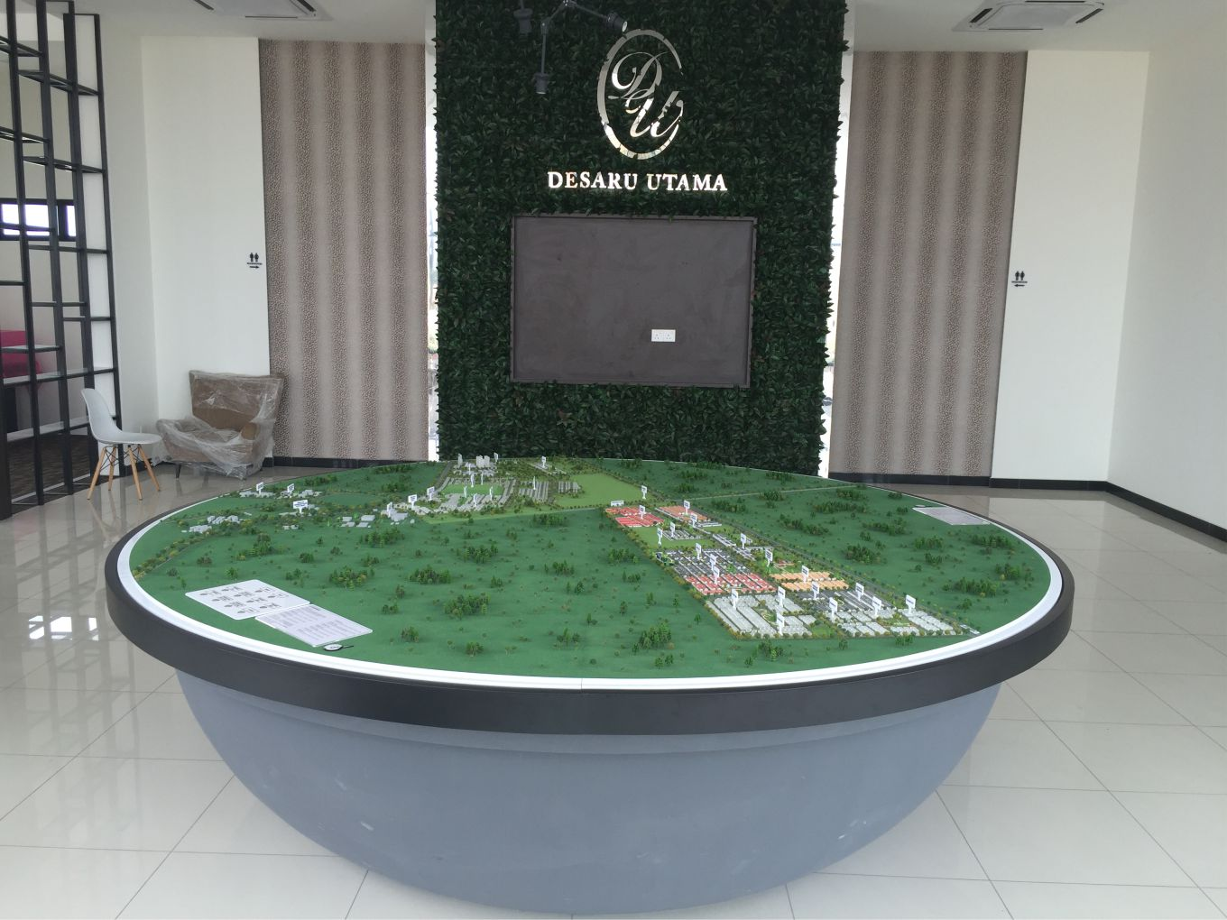 Masterplan Scale Model of Taman Sri Penawar ( Desaru Utama ) Scale 1:1500